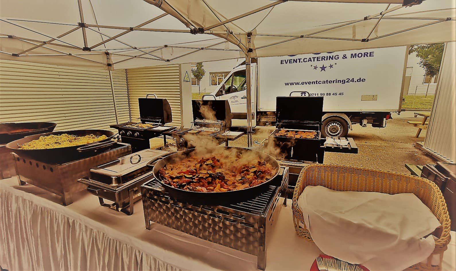 bbq catering live Barbecue